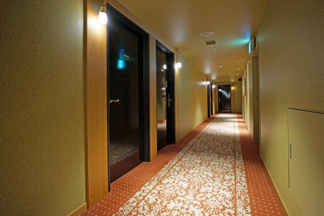 JR九州ホテル ブラッサム大分 _廊下