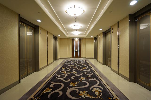 名古屋東急_エレベーターホール