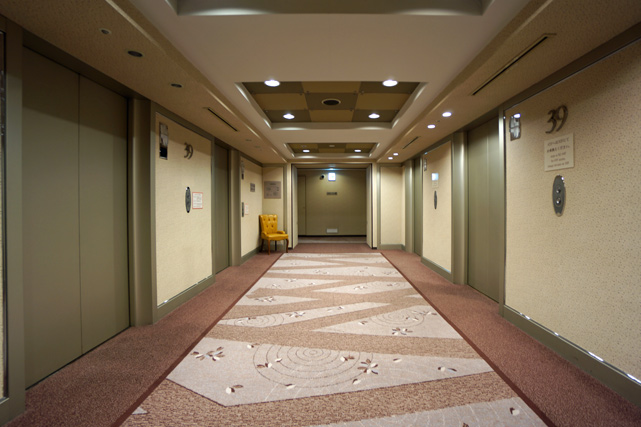 オークラアクトシティ浜松_エレベーターホール