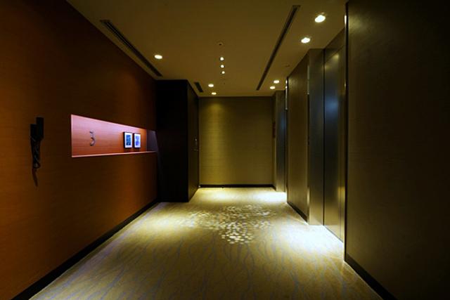 ソラリア銀座_エレベーターホール