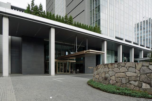 ウェスティンホテル仙台_エントランス
