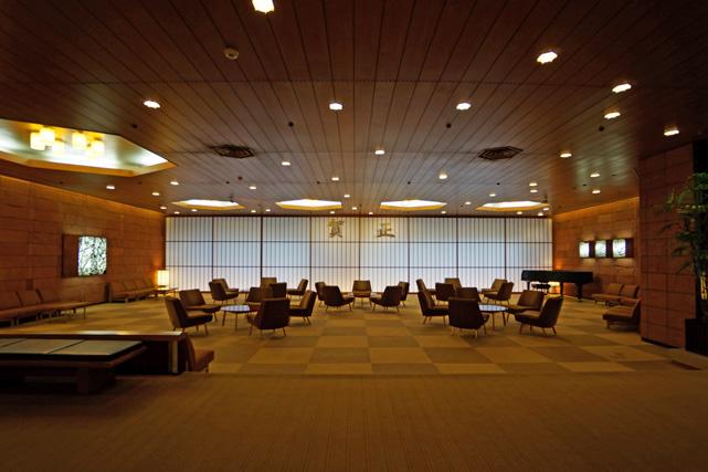ホテルオークラ東京_ロビー