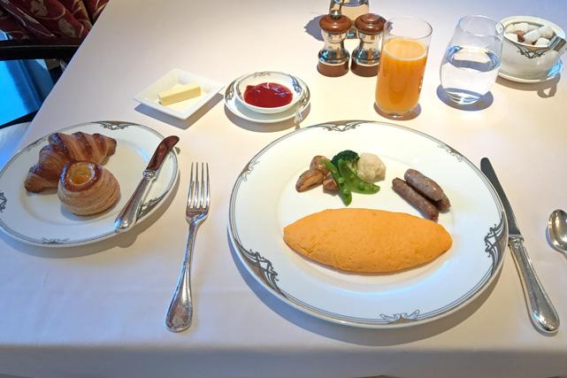 ホテルオークラ東京_ラ・ベル・エポック朝食