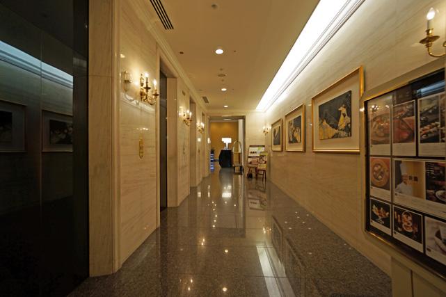 ウェスティン大阪_エレベーターホール