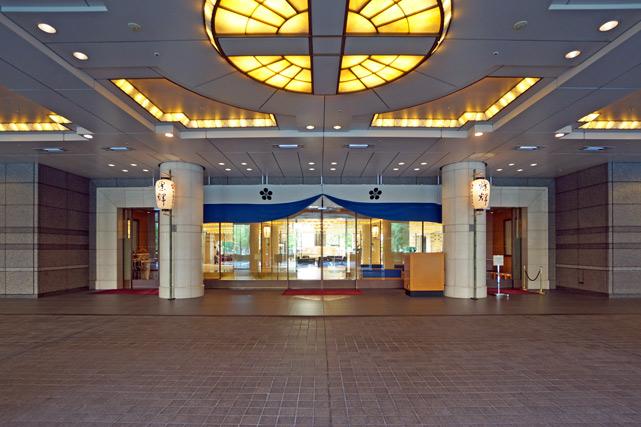 帝国ホテル大阪_1階エントランス