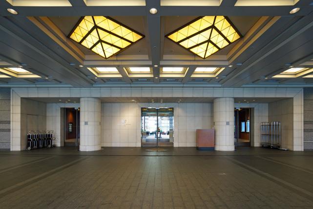 帝国ホテル大阪_2階玄関
