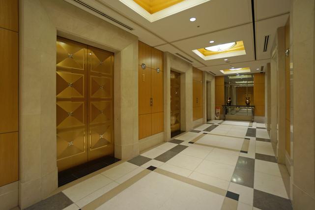 帝国ホテル大阪_エレベーターホール