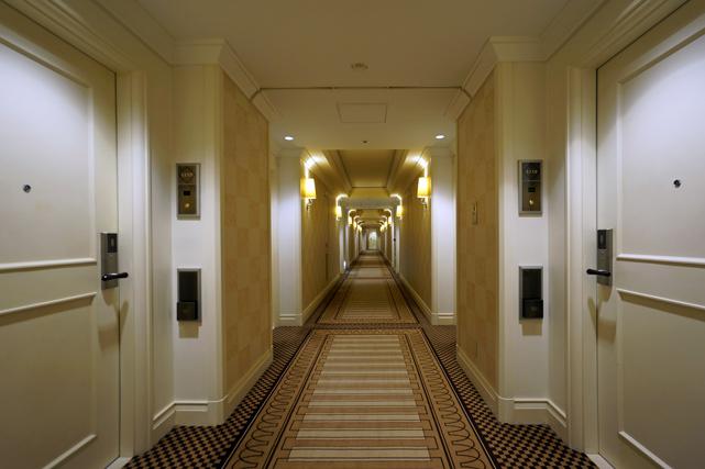 帝国ホテル大阪_客室階廊下
