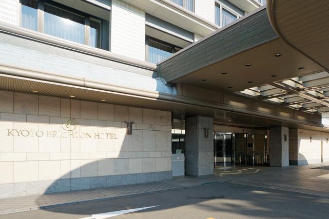 京都ブライトンホテル_エントランス
