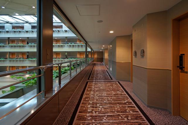 京都ブライトンホテル_廊下