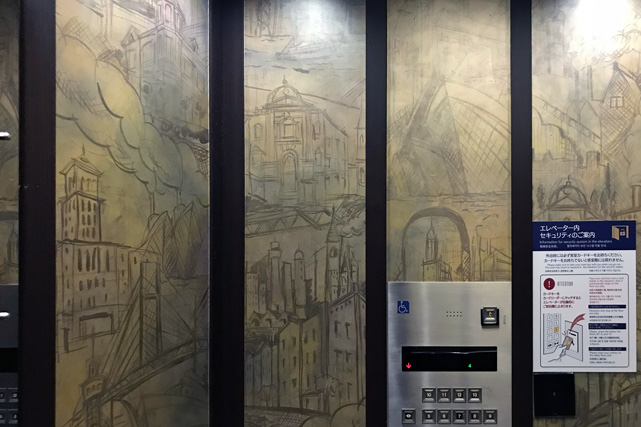 ホテルモントレ横浜_エレベーター