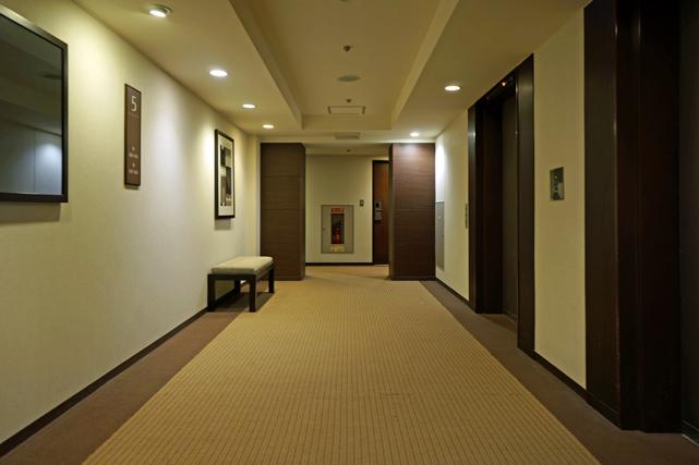 ホテルモントレ横浜_エレベーターホール