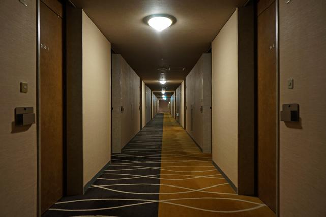 札幌パークホテル_廊下
