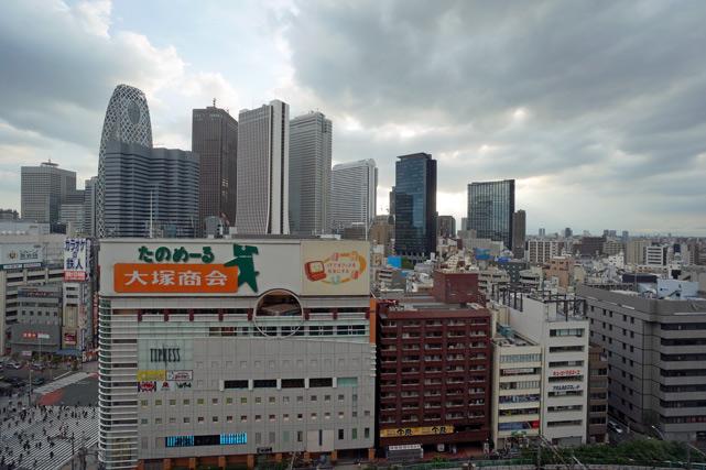新宿プリンス_西新宿側の眺め