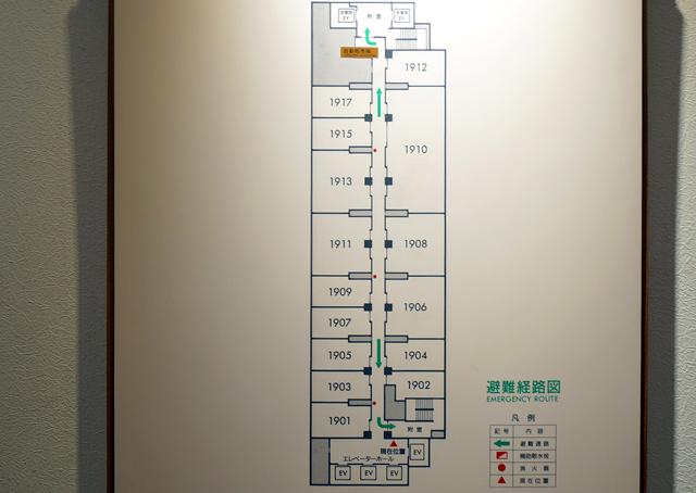 ロイトン札幌_フロアマップ