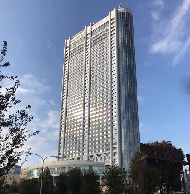 東京ドームホテル_外観