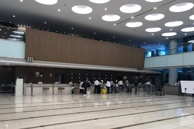 東京ドームホテル_ロビー