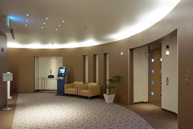 東京ドームホテル_エレベーターホール