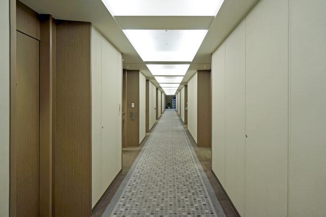 東京ドームホテル_廊下