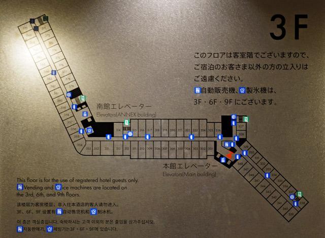 マイステイズプレミア成田_フロアマップ