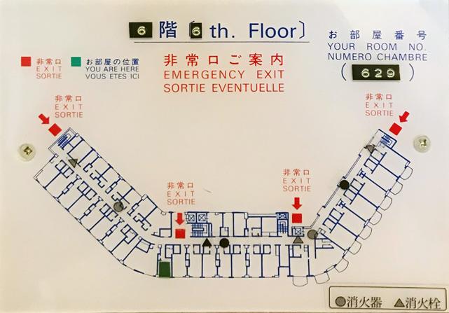 下田東急ホテル_フロアマップ