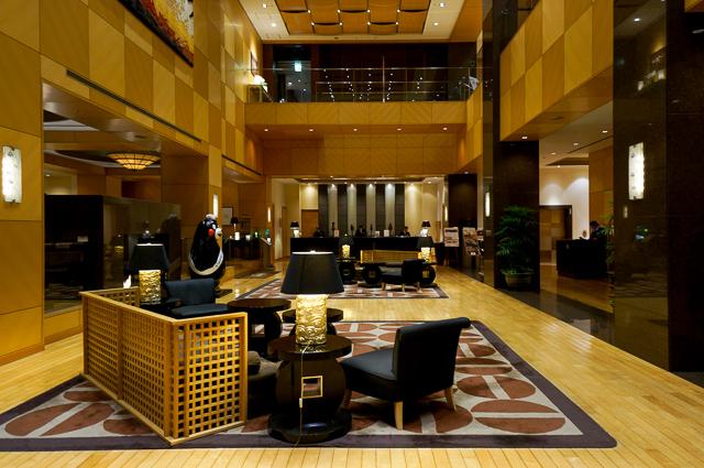 ホテル日航熊本_ロビー