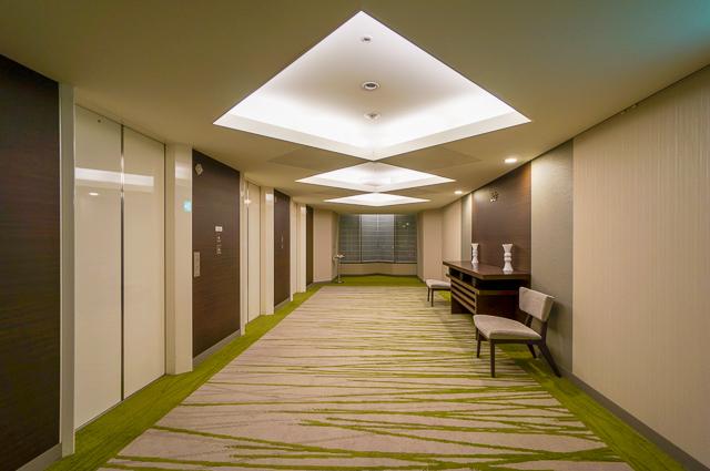 びわ湖大津プリンスホテル_エレベーターホール