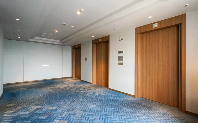 ヒルトン名古屋_エレベーターホール