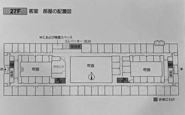 グランヴィア大阪_フロアマップ