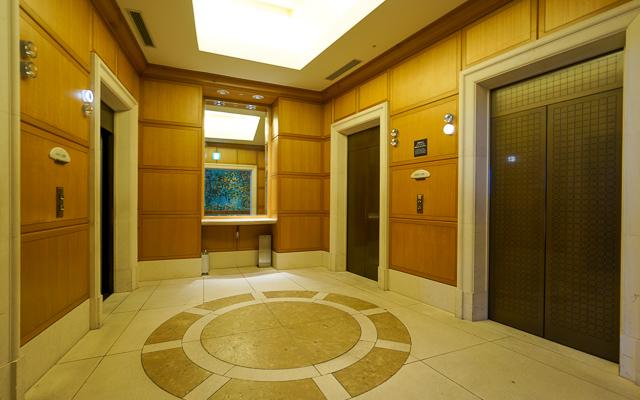 ヒルトン東京お台場_エレベーターホール