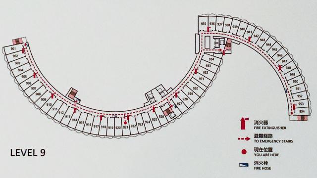 ヒルトン東京お台場フロアマップ