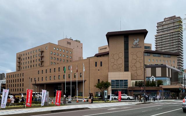秋田キャッスルホテル_外観