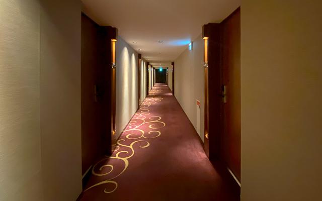 秋田キャッスルホテル_廊下