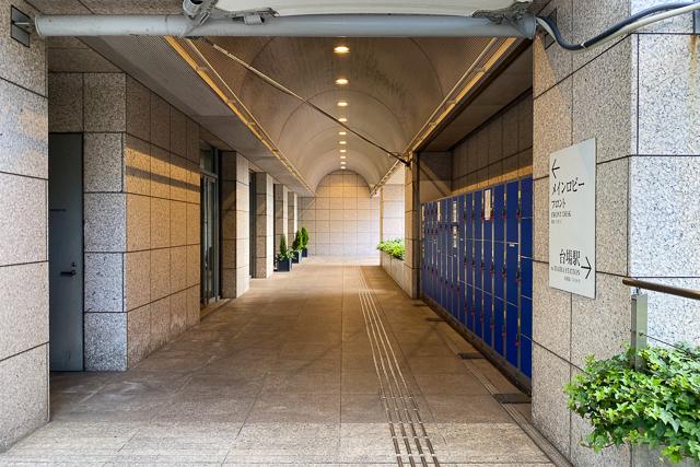 グランドニッコー東京 台場_通路